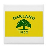 Cute Oakland Tile Coaster