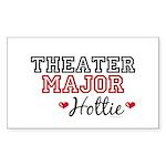 Theater Major Hottie Rectangle Sticker 50 pk)