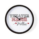Theater Major Hottie Wall Clock