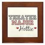 Theater Major Hottie Framed Tile
