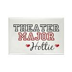 Theater Major Hottie Rectangle Magnet
