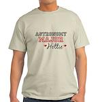 Astronomy Major Hottie Light T-Shirt