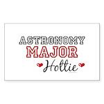 Astronomy Major Hottie Rectangle Sticker 10 pk)