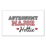 Astronomy Major Hottie Rectangle Sticker