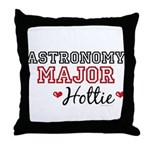 Astronomy Major Hottie Throw Pillow
