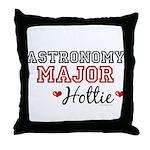 Astronomy Major Hottie Throw Pillow