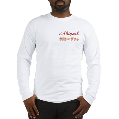 Abigail (Pocket) Long Sleeve T-Shirt