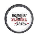 Music Major Hottie Wall Clock