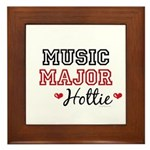 Music Major Hottie Framed Tile