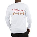 Chris (Back) Long Sleeve T-Shirt
