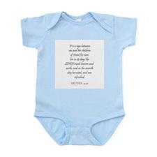 EXODUS  31:17 Infant Creeper
