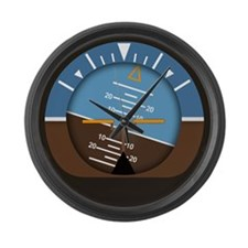 Attitude Large Wall Clock