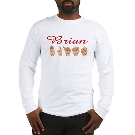Brian (Front) Long Sleeve T-Shirt