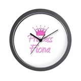 Princess Fiona Wall Clock
