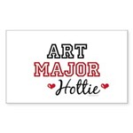 Art Major Hottie Rectangle Sticker 50 pk)
