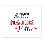 Art Major Hottie Small Poster