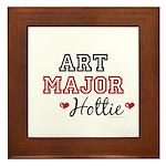 Art Major Hottie Framed Tile