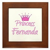 Princess Fernanda Framed Tile