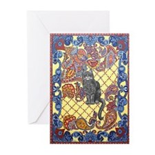 The Paisley Cat Greeting Cards (Pk of 10)