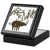 Boar Keepsake Box