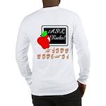 Great Teacher Female (Back) Long Sleeve T-Shirt