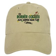 Have Fun Border Collie Hat