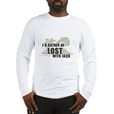 I'd Rather be Lost with Jack Long Sleeve T-Shirt