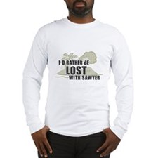 I'd Rather be Lost... Sawyer Long Sleeve T-Shirt