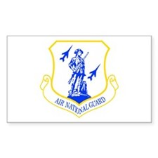 Air National Guard Rectangle Decal