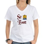 Sir Everett Women's V-Neck T-Shirt