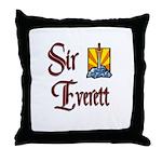 Sir Everett Throw Pillow