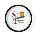 Sir Everett Wall Clock