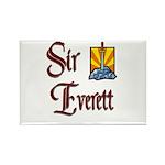Sir Everett Rectangle Magnet (10 pack)