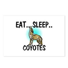 Eat ... Sleep ... COYOTES Postcards (Package of 8)