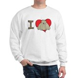 I heart toads Sweatshirt