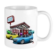 Superbird Gas station scene Mug