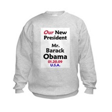 Mr. President Obama Inauguration Sweatshirt