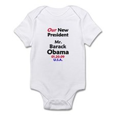 Mr. President Inauguration Obama Infant Bodysuit