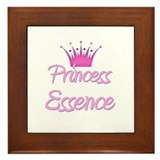 Princess Essence Framed Tile