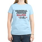 Criminal Justice Major Hottie Women's Light T-Shir