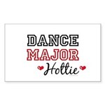 Dance Major Hottie Rectangle Sticker