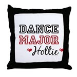 Dance Major Hottie Throw Pillow