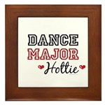 Dance Major Hottie Framed Tile