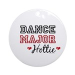 Dance Major Hottie Ornament (Round)