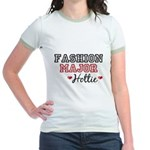 Fashion Major Hottie Jr. Ringer T-Shirt