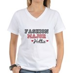 Fashion Major Hottie Women's V-Neck T-Shirt