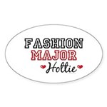 Fashion Major Hottie Oval Sticker (10 pk)