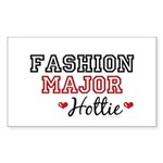 Fashion Major Hottie Rectangle Sticker