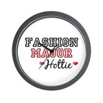 Fashion Major Hottie Wall Clock