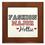 Fashion Major Hottie Framed Tile